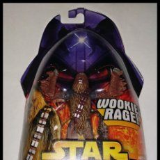 Figuras y Muñecos Star Wars: STAR WARS # CHEWBACCA # REVENGE OF THE SITH - NUEVO EN SU BLISTER ORIGINAL DE HASBRO... Lote 181525018