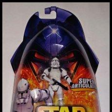 Figuras y Muñecos Star Wars: STAR WARS # CLONE TROOPER # REVENGE OF THE SITH - NUEVO EN SU BLISTER ORIGINAL DE HASBRO... Lote 190460051