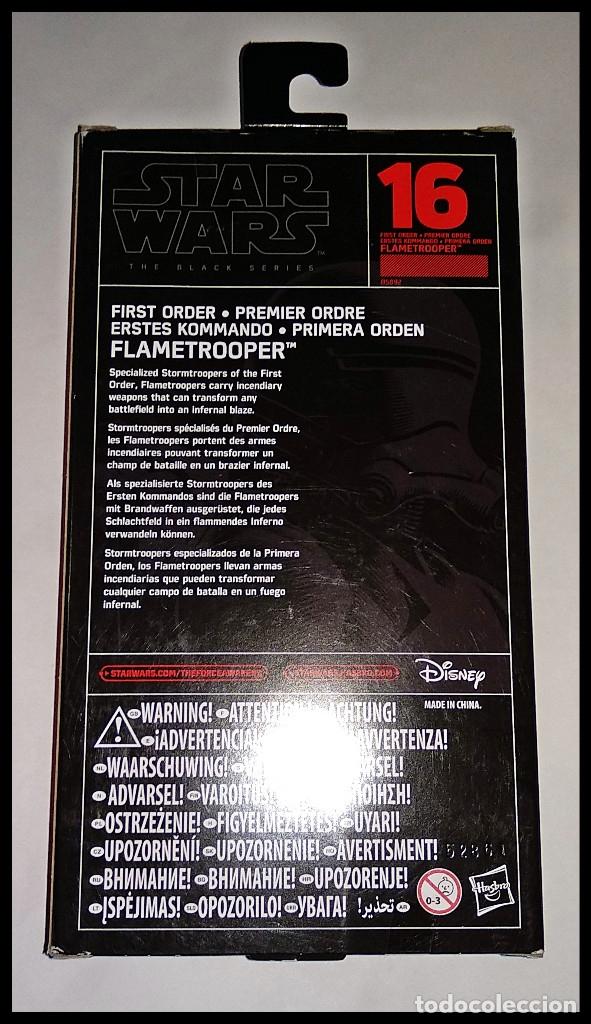 Figuras y Muñecos Star Wars: STAR WARS # 16 - FLAMETROOPER # THE BLACK SERIES - 15 CM - NUEVO EN SU CAJA ORIGINAL DE HASBRO.. - Foto 2 - 181878627