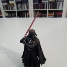 Figuras y Muñecos Star Wars: FIGURA RIGIDA TIPO PLOMO STAR WARS DARTH VADER 10 CMS EXCELENTE ESTADO. Lote 181924576