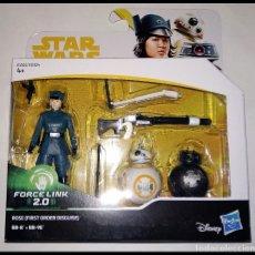 Figuras y Muñecos Star Wars: STAR WARS PACK # ROSE & BB-8 & BB-9E # FORCE LINK - NUEVO EN SU CAJA ORIGINAL DE HASBRO... Lote 182026185