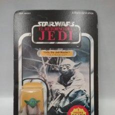 Figuras y Muñecos Star Wars: PBP (SPAIN) - STAR WARS - EL RETORNO DEL JEDI - THE RETURN OF THE JEDI - YODA. Lote 182257611