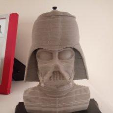 Figuras y Muñecos Star Wars: CABEZA FIGURA DE DARTH WADER STAR WARS . Lote 182368935