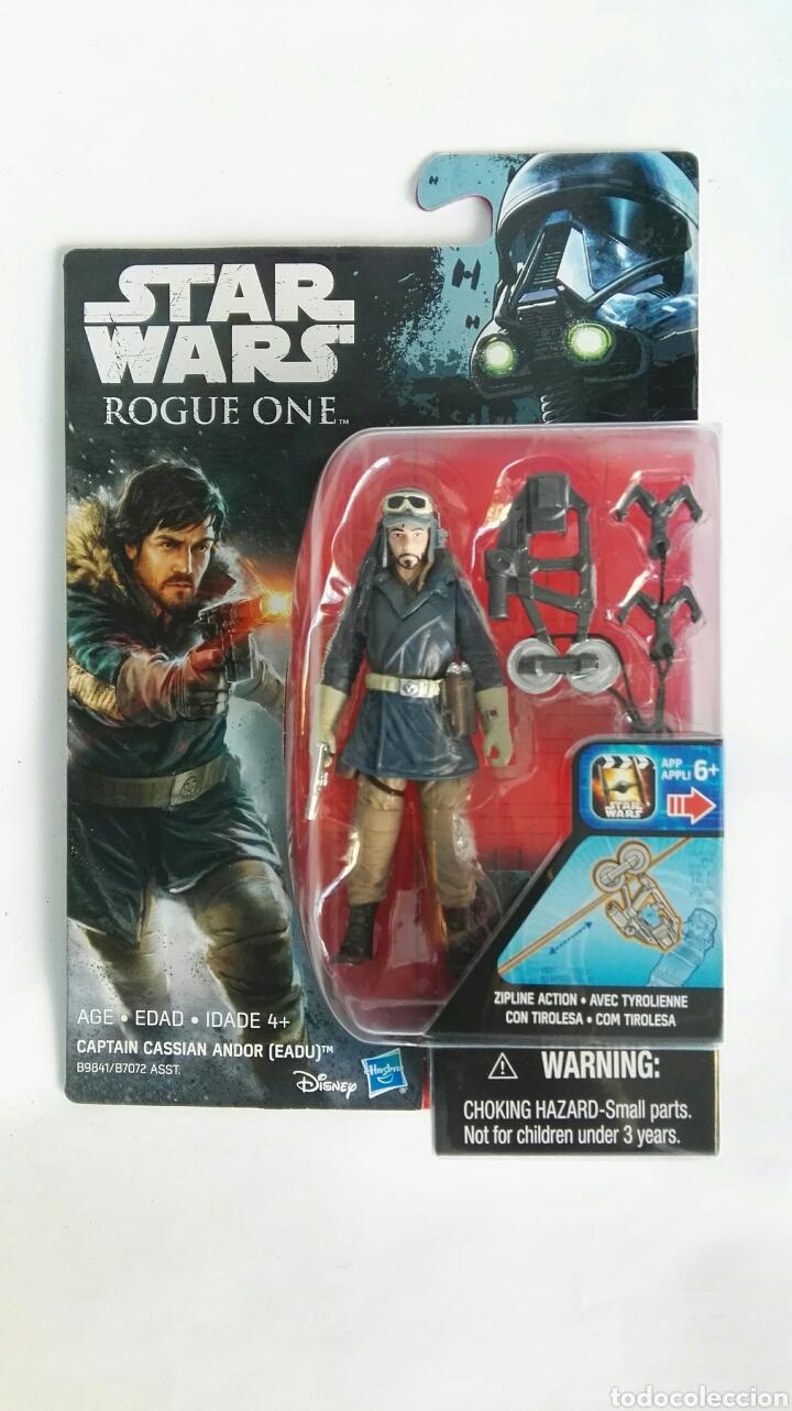 STAR WARS ROGUE ONE CAPTAIN CASSIAN ANDOR (Juguetes - Figuras de Acción - Star Wars)