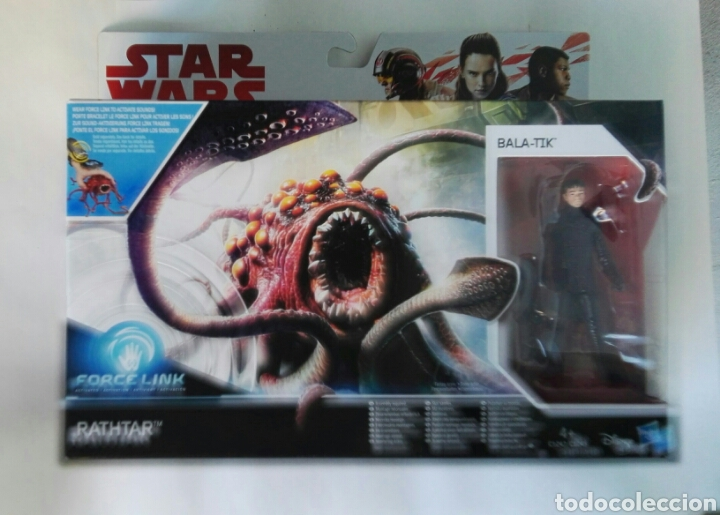 STAR WARS RATHTAR FORCE LINK BALA-TIK (Juguetes - Figuras de Acción - Star Wars)