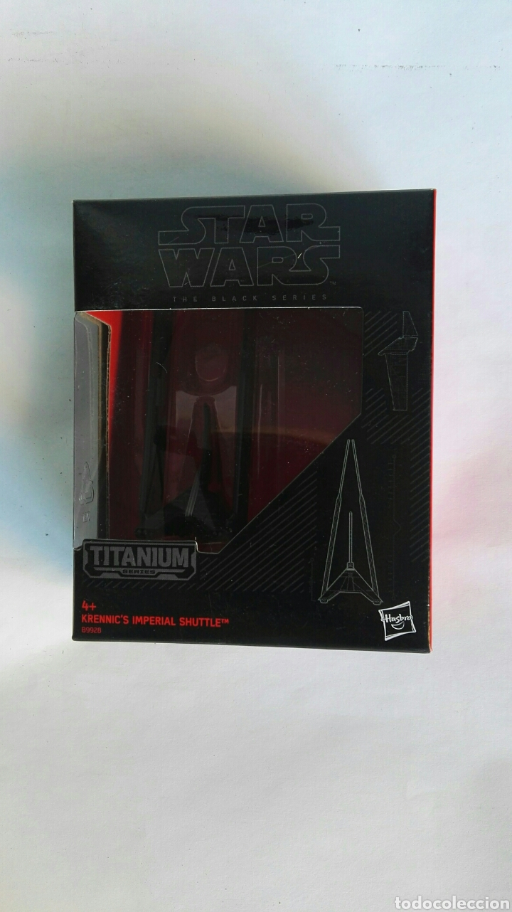 STAR WARS NAVE TITANIUM SERIES KRENNIC'S IMPERIAL SHUTTLE (Juguetes - Figuras de Acción - Star Wars)