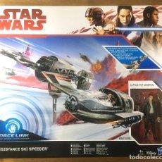 Figuras y Muñecos Star Wars: STAR WARS- RESISTANCE SKI SPEEDER. Lote 225107873