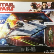 Figure e Bambolotti Star Wars: STAR WARS RESISTANCE A-WING FIGHTER. Lote 228956980
