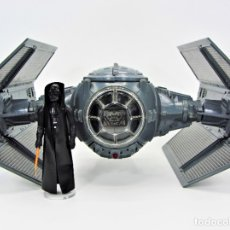 Figuras y Muñecos Star Wars: STAR WARS KENNER VINTAGE DARTH VADER TIE FIGHTER + DARTH VADER COMPLETO 19008001. Lote 182848838
