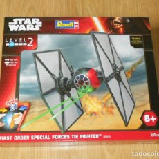 Figuras y Muñecos Star Wars: MAQUETA FIRST ORDER SPECIAL FORCES TIE FIGHTER - STAR WARS - REVELL - LEVEL 2 - NUEVO. Lote 182856695