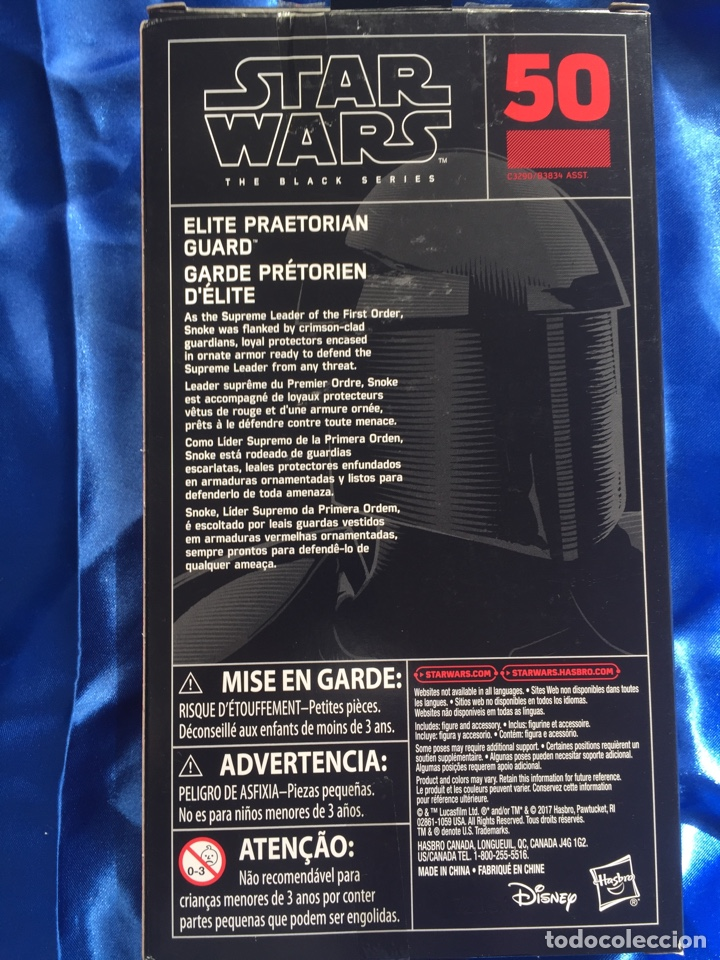 Figuras y Muñecos Star Wars: Star Wars Elite Praetorian Guard Black Series 15cm - Foto 2 - 182963005