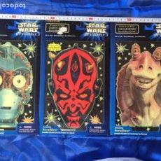 Figuras y Muñecos Star Wars: STAR WARS EPISODIO I IMÁGENES DE PERSONAJES SE ILUMINAN EN LA OSCURIDAD. Lote 182980632
