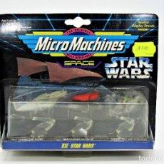Figuras y Muñecos Star Wars: STAR WARS MICROMACHINES 65860 MON CALAMARI CRUISER, JABBA´S SAIL BARGE, JET BIKE 19006019. Lote 183016501