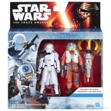 Figuras y Muñecos Star Wars: NOVISIMO SET DE STAR WARS CON TRES FIGURAS, DISNEY+HASBRO. A ESTRENAR.. Lote 183379347