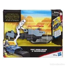 Figuras y Muñecos Star Wars: SET DE STAR WARS CON FIGURA Y GRAN MOTO DE COMBATE, DISNEY+HASBRO. A ESTRENAR.. Lote 183387435