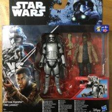 Figure e Bambolotti Star Wars: STAR WARS - FIGURAS CAPITAN PHASMA VS FINN (JAKKU). Lote 183489497