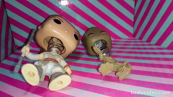Figuras y Muñecos Star Wars: LOTE DE 2 FUNKO POP DE GUARDIANES DE LA GALAXIA Y STAR WARS, CON DEFECTOS - Foto 3 - 183530807