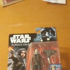 Figuras y Muñecos Star Wars: STAR WARS ROUGE ONE FIGURA DE SERGEANT JYN ERSO DISNEY HASBRO. Lote 183541810