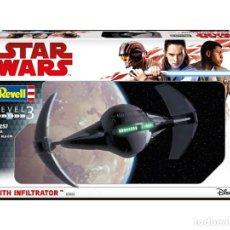 Figuras y Muñecos Star Wars: ESPECTACULAR MAQUETA MULTICOLOR DE SITH INFILTRATOR- STAR WARS. . A ESTRENAR.. Lote 183673912