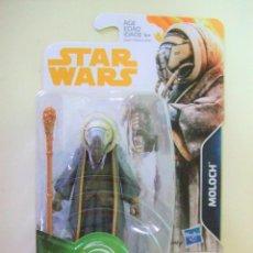 Figuras y Muñecos Star Wars: FIGURA MOLOCH - HAN SOLO STAR WARS STORY DISNEY HASBRO MUÑECO LA GUERRA LAS GALAXIAS FORCE LINK 3,75. Lote 184254706