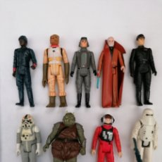 Figuras y Muñecos Star Wars: LOTE 9 FIGURAS STAR WARS KENNER. Lote 184624241