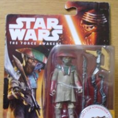 Figuras y Muñecos Star Wars: FIGURA CONSTABLE ZUVIO DE STAR WARS THE FORCE AWAKENS DE HASBRO SIN ABRIR EN SU BLISTER O CAJA. Lote 184921431