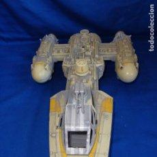 Figuras e Bonecos Star Wars: STAR WARS - NAVE Y-WING, HASBRO 1999,LUCASFILM LTD. VER FOTOS Y DESCRIPCION! SM. Lote 185594008