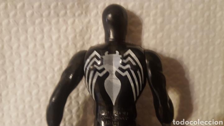 Figuras y Muñecos Star Wars: Figura - Spider-man - Spiderman negro - Marvel Secret Wars - Mattel - 1984-El origen simbionte Venom - Foto 5 - 185702515