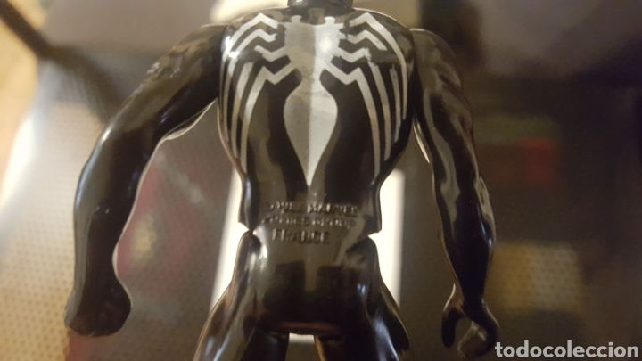 Figuras y Muñecos Star Wars: Figura - Spider-man - Spiderman negro - Marvel Secret Wars - Mattel - 1984-El origen simbionte Venom - Foto 7 - 185702515