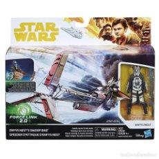 Figuras y Muñecos Star Wars: NAVE NÉMESIS DE STAR WARS CON PILOTO. EN CAJA PRECINTADA.. Lote 185953755