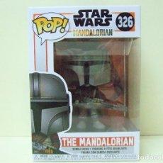 Figuras y Muñecos Star Wars: FIGURA THE MANDALORIAN - FUNKO POP STAR WARS Nº 326 - CAZARRECOMPENSAS SERIE MUÑECO EL MANDALORIANO. Lote 186026526