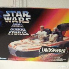 Figuras y Muñecos Star Wars: STAR WARS NAVE LANDSPEEDER KENNER EN CAJA. Lote 186254301