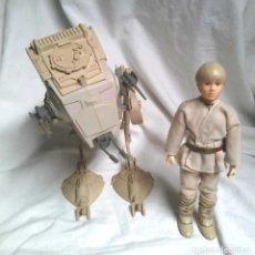 Figuras y Muñecos Star Wars: SCOUT WALKER Y LUKE SKYWALKER STAR WARS LUCASFILM 1982. Lote 186472462