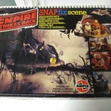 Figuras y Muñecos Star Wars: STAR WARS MAQUETA AIRFIX SNAPFIX ENCUENTRO CON YODA EN DAGOBAH . Lote 186735430