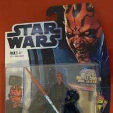Figuras y Muñecos Star Wars: FIGURA STAR WARS MOVIE HEROES DARTH MAUL NUEVA EN BLISTER. Lote 187445613
