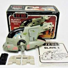 Figuras y Muñecos Star Wars: STAR WARS KENNER VINTAGE SLAVE I COMPLETO CON CAJA 19011014. Lote 187589790