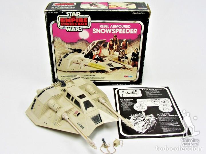 STAR WARS KENNER VINTAGE SNOWSPEEDER COMPLETO CON CAJA 19011015 (Juguetes - Figuras de Acción - Star Wars)