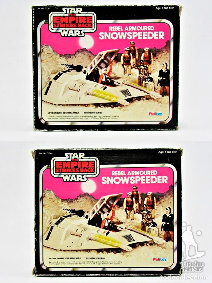 Figuras y Muñecos Star Wars: Star Wars Kenner Vintage Snowspeeder completo con caja 19011015 - Foto 9 - 187590302