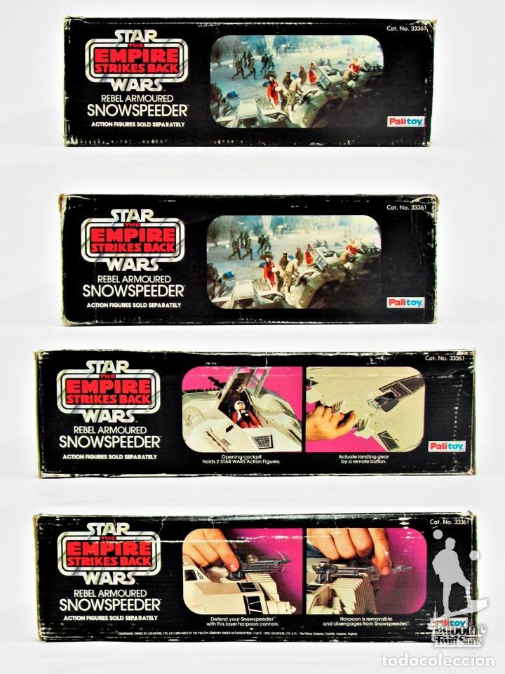 Figuras y Muñecos Star Wars: Star Wars Kenner Vintage Snowspeeder completo con caja 19011015 - Foto 10 - 187590302