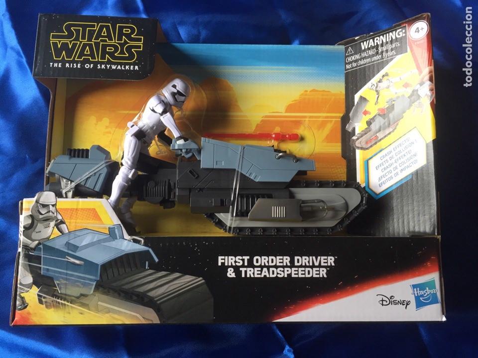 Figuras y Muñecos Star Wars: Star Wars The Rise of Skywalker Treadspeeder Galaxy of adventures - Foto 2 - 187764336