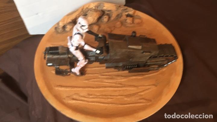 Figuras y Muñecos Star Wars: Star Wars The Rise of Skywalker Treadspeeder Galaxy of adventures - Foto 4 - 187764336