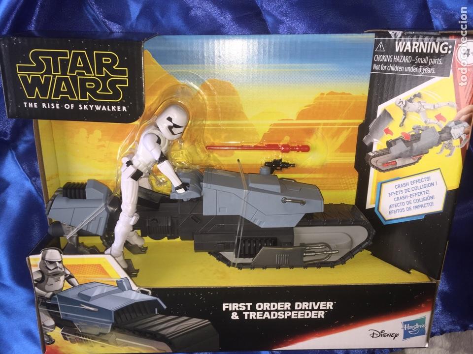 STAR WARS THE RISE OF SKYWALKER TREADSPEEDER GALAXY OF ADVENTURES (Juguetes - Figuras de Acción - Star Wars)