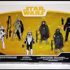 Figuras y Muñecos Star Wars: STAR WARS, SET DE 6 FIGURAS, PACK FORCE LINK 2.0 - NUEVOS EN SU CAJA ORIGINAL DE HASBRO. Lote 188586813