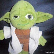 Figuras y Muñecos Star Wars: YODA - STAR WARS - PELUCHE CABEZON - LUCAS ARTS. Lote 188669572