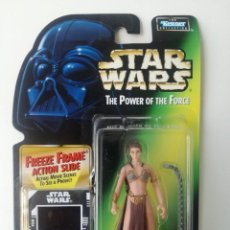 Figuras y Muñecos Star Wars: LEIA JABBA PALACE STAR WARS THE POWER OF THE FORCE. Lote 188702691
