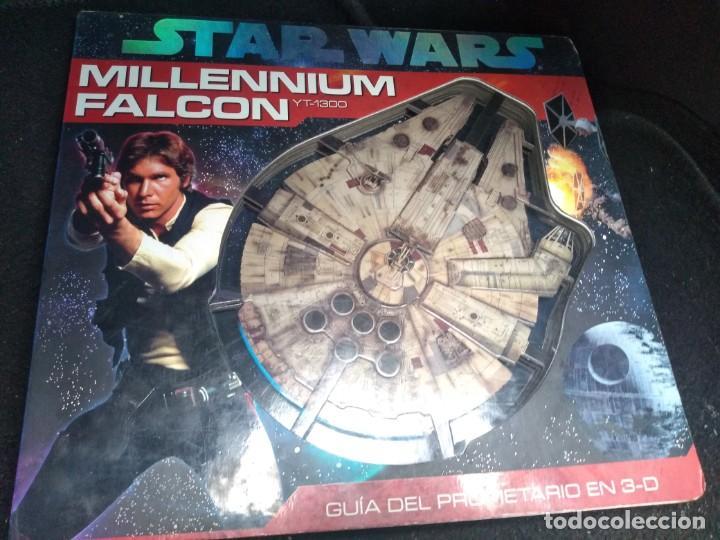 ANTIGUO STAR WARS MILLENIUM FALCON YT-1300 GUIA DEL PROPIETARIO 3D (Juguetes - Figuras de Acción - Star Wars)