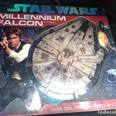 Figuras y Muñecos Star Wars: ANTIGUO STAR WARS MILLENIUM FALCON YT-1300 GUIA DEL PROPIETARIO 3D. Lote 189136766