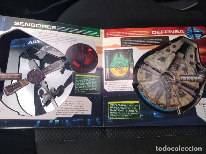 Figuras y Muñecos Star Wars: Antiguo Star Wars Millenium Falcon YT-1300 Guia del propietario 3D - Foto 2 - 189136766