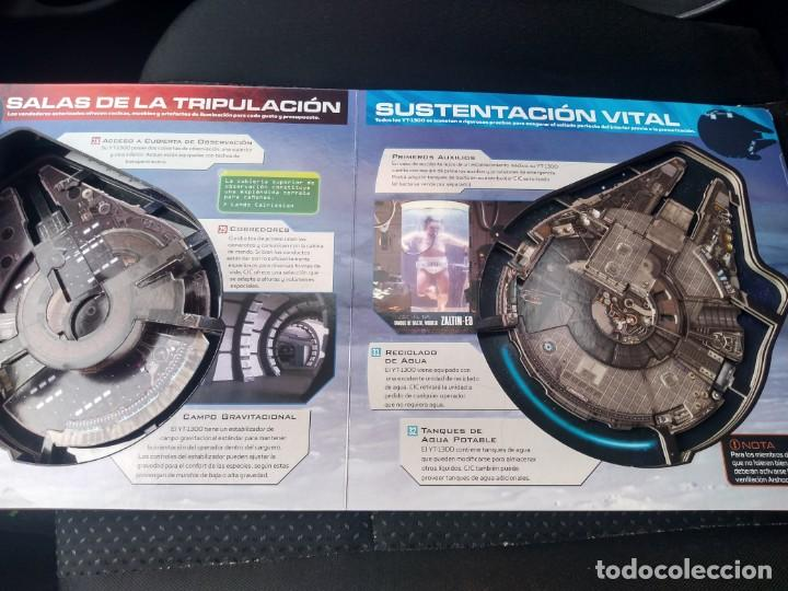 Figuras y Muñecos Star Wars: Antiguo Star Wars Millenium Falcon YT-1300 Guia del propietario 3D - Foto 3 - 189136766