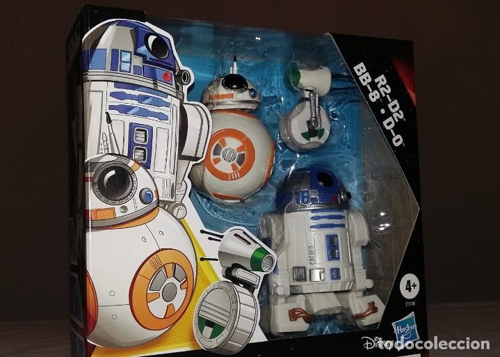 MUÑECO MUÑECOS FIGURA STAR WARS R2-D2 BB-8 D-0 THE RISE OF SKYWALKER (Juguetes - Figuras de Acción - Star Wars)